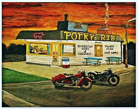 Larry E  Lamb - Porkys Rib shack
