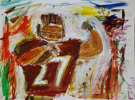 Rice Touchdown by Frank Middleton
