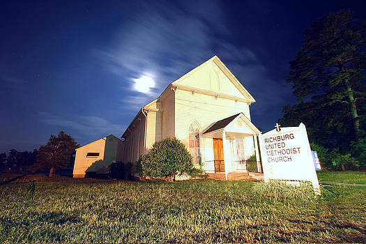 Richburg United Methodist Church by Joseph C Hinson Photography
