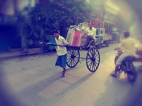 Rickshaw by Daniel Chowdhury