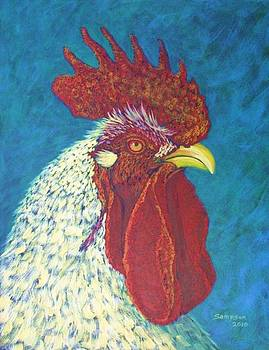 Ricky the Rooster by Cynthia Sampson