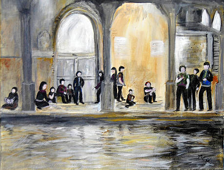 Friday Night in Venice by Mary Chalmers Main