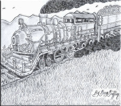 Ride The Train To A Land Of Make Believe by Gerald Griffin
