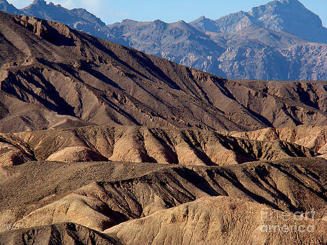 Ridges of Death Valley by Eva Kato