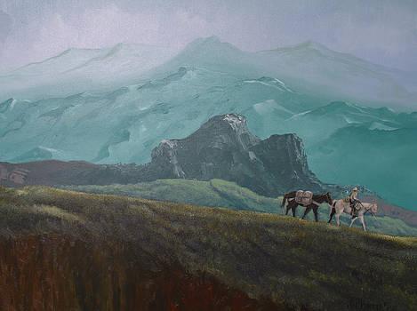 Riding the High Ridge by Joe Prater