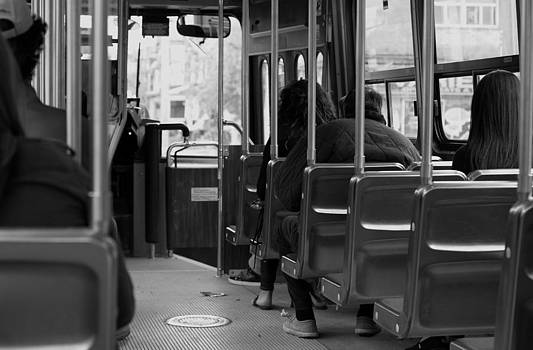 Riding the Street Car by Nicky Jameson