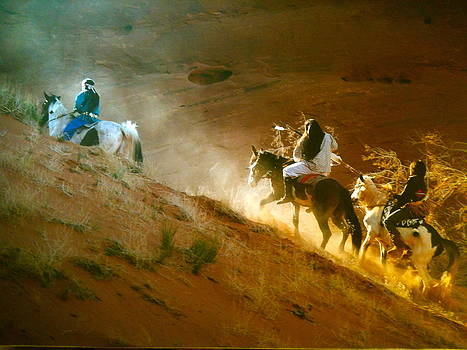 Riding Up The Ear Of The Wind by Lane Baxter