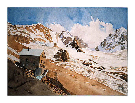 Rifugio Tschierva by Fritz Engelhardt