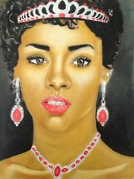 Rihanna  by Abiodun Bewaji