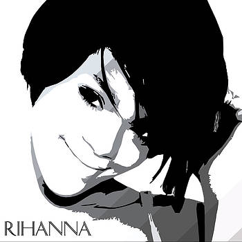 Rihanna Warholesque by GBS by Anibal Diaz