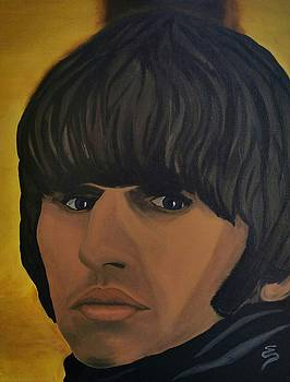 Ringo Star  Beatles For Sale by Edward Pebworth