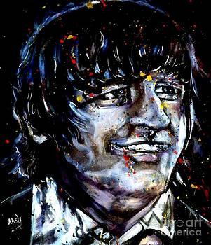 Ringo Starr Blue Pop by Misty Smith