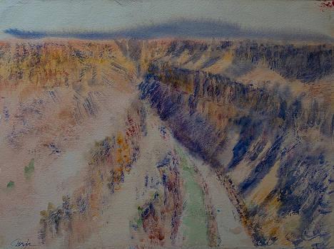 Rio Grande canyon by Horacio Prada