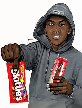 RIP Trayvon Martin by Anto