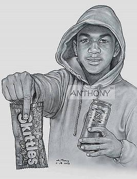 RIP Trayvon Martin Miami  by Anto