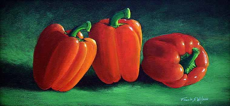 Frank Wilson - RIPE RED PEPPERS