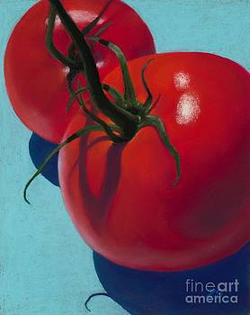 Ripened Tomatoes by Xenia Sease