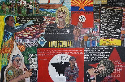 Rise of Latino Rights by Visual Renegade Art