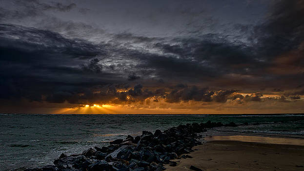 Rising over a storm by Vinicios De Moura