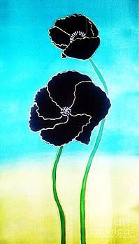 Rising Poppies by Dye n  Design