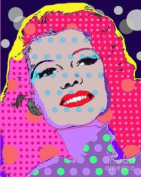 Rita Hayworth by Ricky Sencion