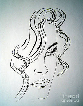 Ritratto di una donna sconosciuta - Portrait of an unknown woman by Ze  Di