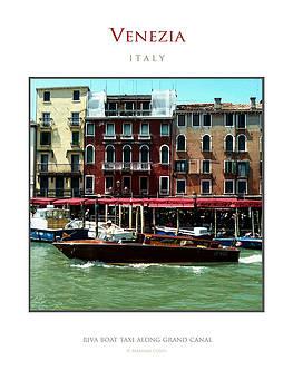 Riva Boat Venice by Massimo Conti