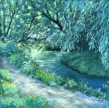 River at Easy Street by Lorna Saiki