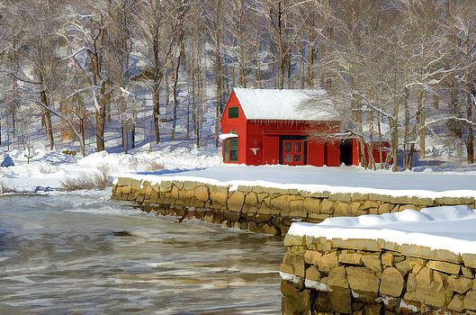 River Barn by Donna Doherty
