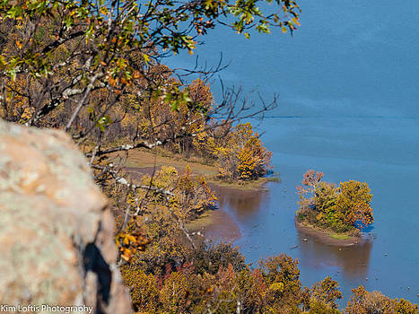 River blues  by Kim Loftis