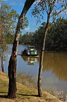River Boat by Blair Stuart