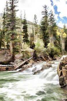 River Boulders by J Michael Nettik
