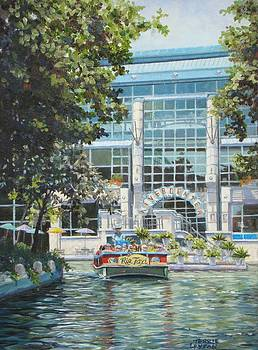 River Center Mall by Terrie Leyton