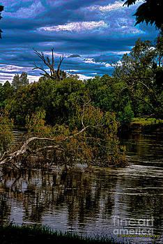 River flood by Blair Stuart