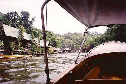 River Kwai Village - Thailand by Douglas Martin