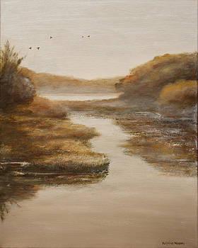 River Landscape by Katrina Nixon