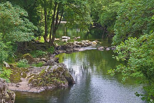 River Llugwy by Jane McIlroy