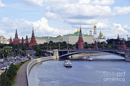 Pravine Chester - River Moskva