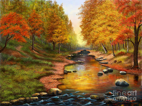 River of Colors by Sena Wilson