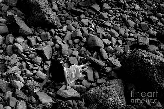 River of the stones  by Dattaram Gawade