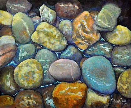 River Rocks 2 by Eileen  Fong