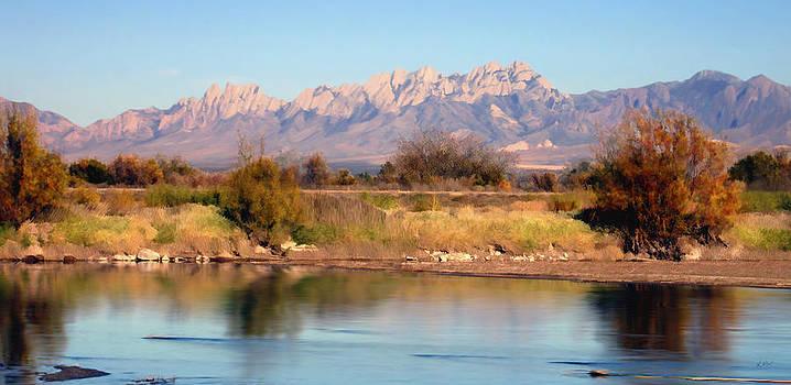 Kurt Van Wagner - River View Mesilla Panorama