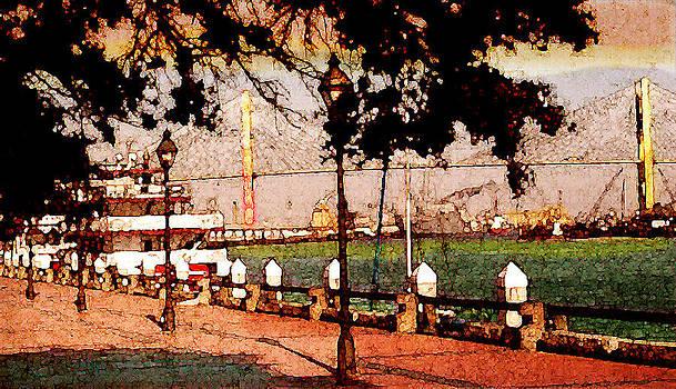 River Walk of Savannah by Daniel Bonnell
