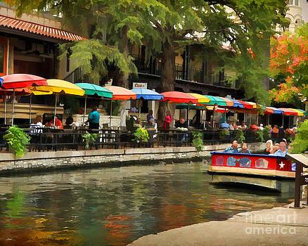 River Walk San Antonio by Josephine Cohn