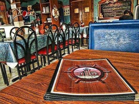 Riverfront Restaurant by Nancy De Flon