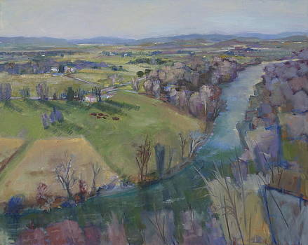 River's Bend II by Elaine Hurst