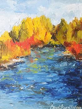 Rivers Edge by Brandi  Hickman