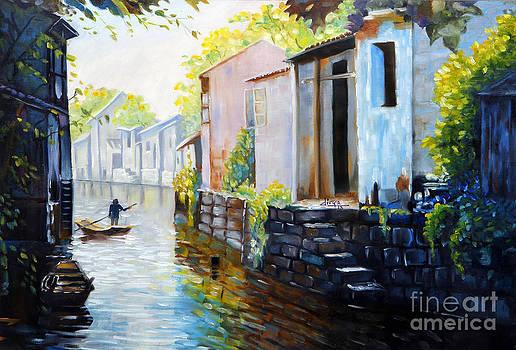 Riverscape by Divya Kakkar