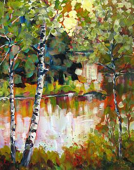 Riverside II by Melissa Gannon