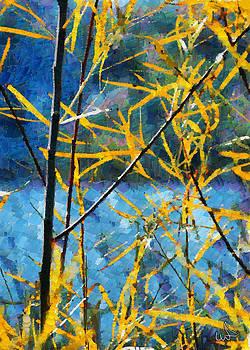 Riverside Sunlight by Michael Flood